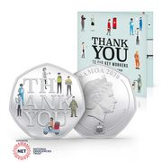 Thank You to Our Key Workers Official Charity Coin