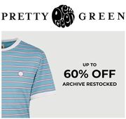 Mens Clothing SALE at Pretty Green - up to 60% Off