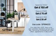 Spend £200 and Get £35 off