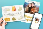 FREE Printed Card Delivered - Get 1 Every Month - Nothing to Pay!