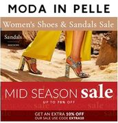 MODA IN PELLE - Shoes & Sandals Sale up to 70% off + EXTRA 10% with CODE