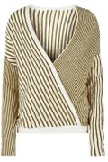 Cheap Join Us Stripe Wrap Jumper Only £10