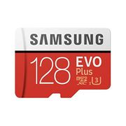 Samsung EVO plus 128 GB microSDXC UHS-I U3 Memory Card with Adapter