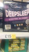 *Only if Your out Essential Shopping* King Size Deep Sleep Electric Blanket