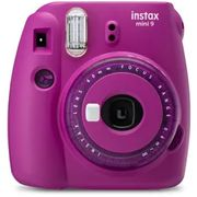 Best Price! Fujifilm Instax Mini 9 Instant Camera including 10 Shots-Purple