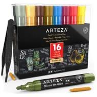 Arteza Liquid Chalk Markers Set of 16 Earth Tones