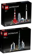 Get LEGO Architecture Tokyo or Dubai for £42.48 + FREE DEL. HERE'S HOW!