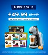 Dolce Gusto Machine and Any 8 Pod Boxes