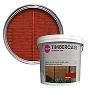 5 Litre Tub of Colours Timbercare Red Cedar Fence & Shed Wood Stain