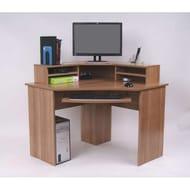 Ferrera Corner Desk - Oak Effect - £48 Delivered