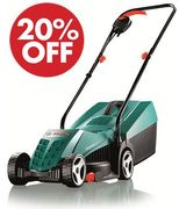 Bosch Rotak 32R Electric Rotary Lawnmower with 32 Cm Cutting Width