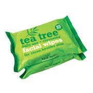 Xpel Tea Tree W Facial Wipes Twin Pack