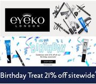 Eyeko - Birthday Treat - 21% off ALMOST EVERYTHING