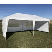 Best Price! Palm Springs 3M X 6M Party Tent Marquee W/ 4 Panels