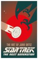 Star Trek: The Art of Juan Ortiz: The next Generation (Hardcover)