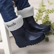 Personalised Navy Wellies & Welly Socks