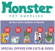 Special Offer - MONSTER PET SUPPLIES - Special Offers