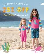 25% off Swimwear & Towelling at Frugi