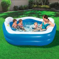 CHEAP! Bestway Pentagon Vinyl Family Fun Paddling Pool - £26 Free C&C
