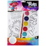 Trolls World Tour Painting Set