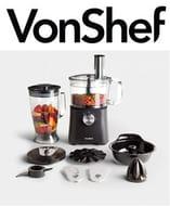 VonShef 750W Food Processor - FREE DELIVERY