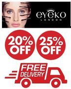 EYEKO EYE MAKE-UP - 25% off / 3 for 2 / FREE DELIVERY ON EVERYTHING