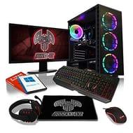 Best Price! ADMI Gaming PC Package: Ryzen 2300X 4.0Ghz Quad Core, 8GB Ram