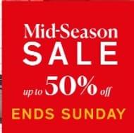 Mid-Season Sale | ENDS SUNDAY