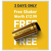 Bank Holiday Sale Up To 80% Off + Free Black 'N' Gold Shaker When You Spend £50
