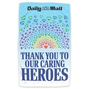 Free NHS Caring Heroes Tea Towel