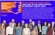 The Great British Retirement Survey *Win £1,000 Or One Of Five Runner-Up Prizes
