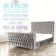 Win a Luxurious Chesterfield Bed Frame!