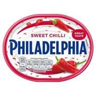 Philadelphia Soft Cheese180g,Lightest Light ,Garlic&Herb Sweet Chilli