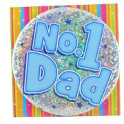 #1 Dad Badge Ready for Fathers Day