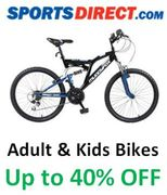 Cheap Adult Bikes & Kids Bikes - up to 40% off BIKES at Sports Direct