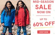 Up to 60% off Muddypuddles Mid-Season Sale