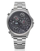 STORM 'Trimatic' Black Gents Watch