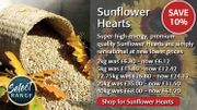 10% off Haith's High-Quality Sunflower Hearts Now from £6.12 for 2Kg