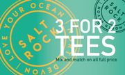 Saltrock | 3 for 2 on T-Shirts