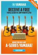 A Free Thr5a Acoustic Amp When You Buy a A-Series Yamaha