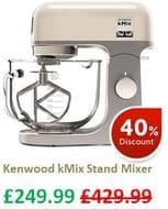 Kenwood kMix Stand Mixer - 5 LEFT !