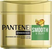 Pantene Masque Smooth and Sleek, Protects for Smooth and Silky Hair, 300 Ml
