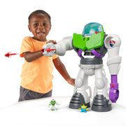 Cheap Imaginext Toy Story Buzz Lightyear Robot Playset Only £44.99