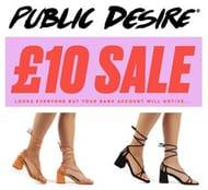 Special Offer - Public Desire - £10 Shoe Sale