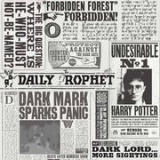 Cheap Harry Potter Newspaper Print Wallpaper Only £9.99!
