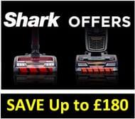 SHARK Vacuums - save £££s on Your SHARK!