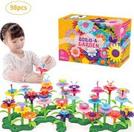 Building Blocks Baby Flower Garden Building Toy 98 PCS
