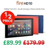 HALF PRICE! Fire HD 10 Tablet