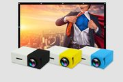 CHEAP! Home Cinema Bundle - YG300 LED Projector & 84 Portable Screen!