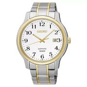 Seiko Mens Stainless Steel Sapphire Watch 25%off at H.Samuel
